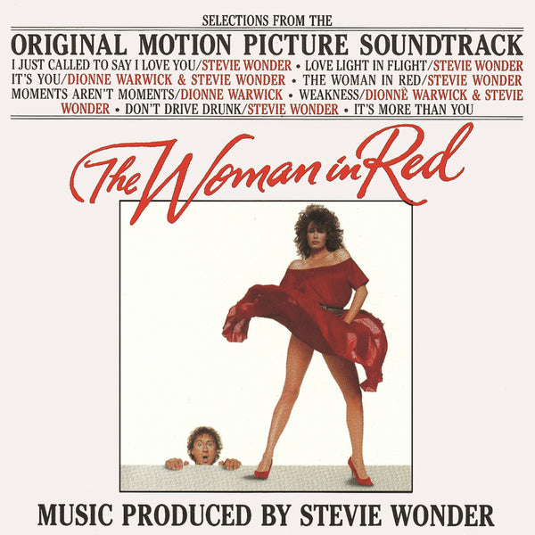 Various ‎– The Woman In Red (OST) (Used)
