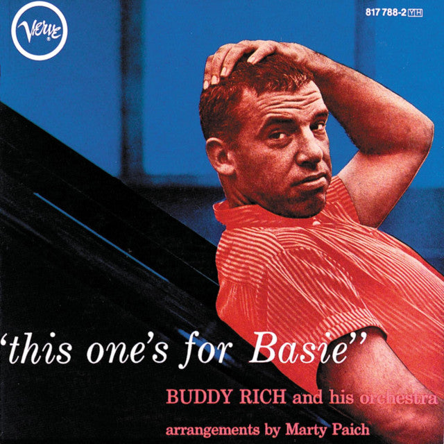 Buddy Rich And His Orchestra ‎– This One's For Basie (Used)