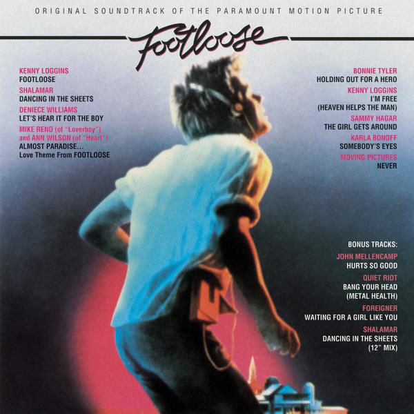 Various ‎– Footloose (Original Motion Picture Soundtrack) (Used)
