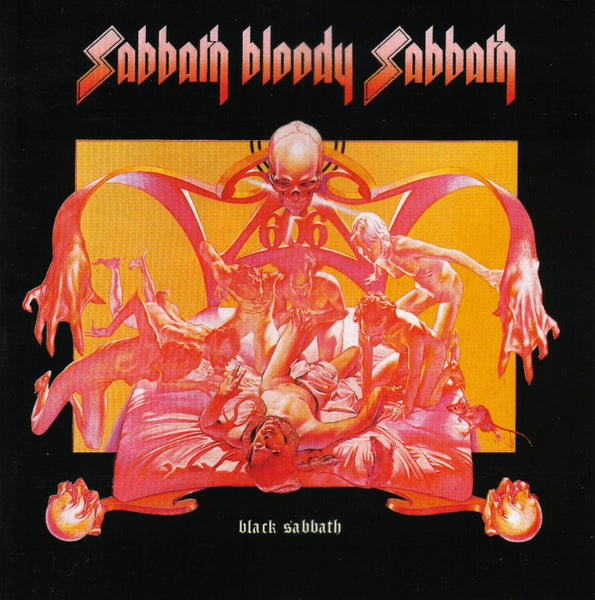 Black Sabbath ‎– Sabbath Bloody Sabbath (Includes CD)