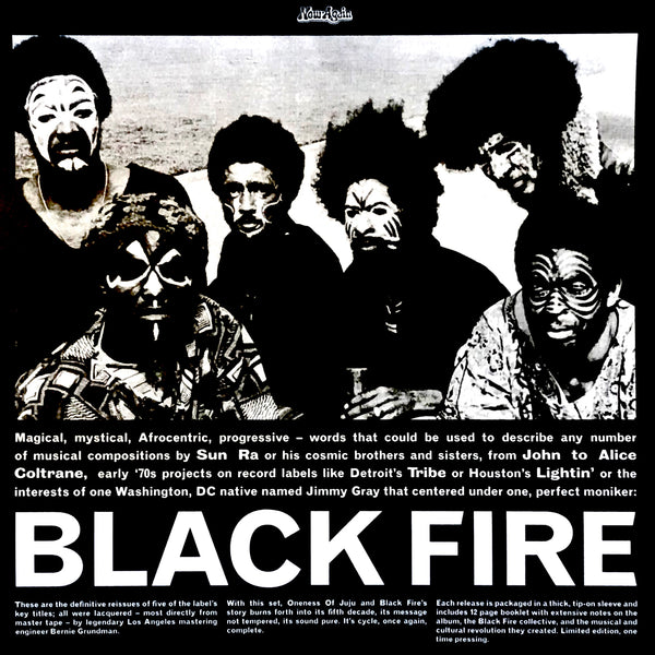 Various - Black Fire (5LP)