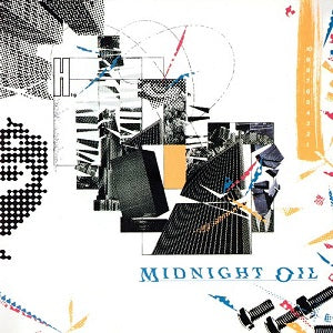 Midnight Oil ‎– 10, 9, 8, 7, 6, 5, 4, 3, 2, 1 (Used)
