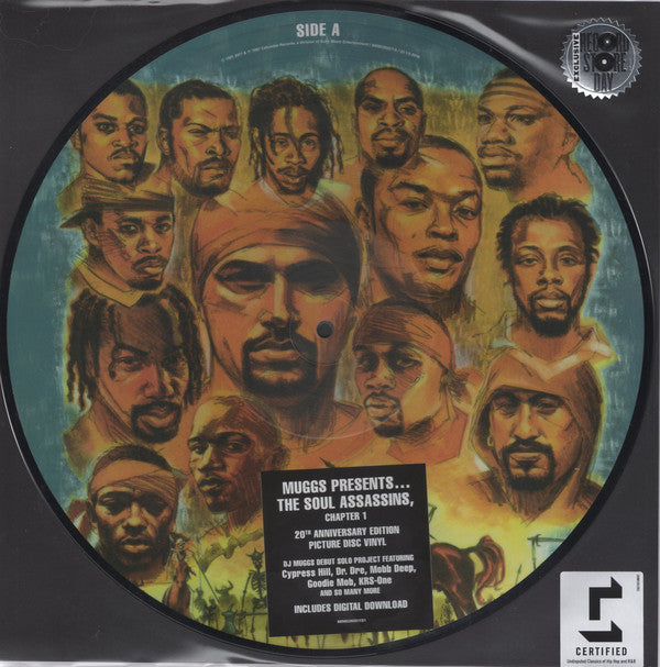 Muggs Presents The Soul Assassins ‎– The Soul Assassins (Chapter 1) (Picture Disc)
