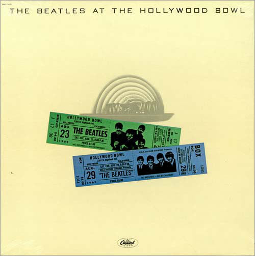 The Beatles ‎– The Beatles At The Hollywood Bowl (Used)