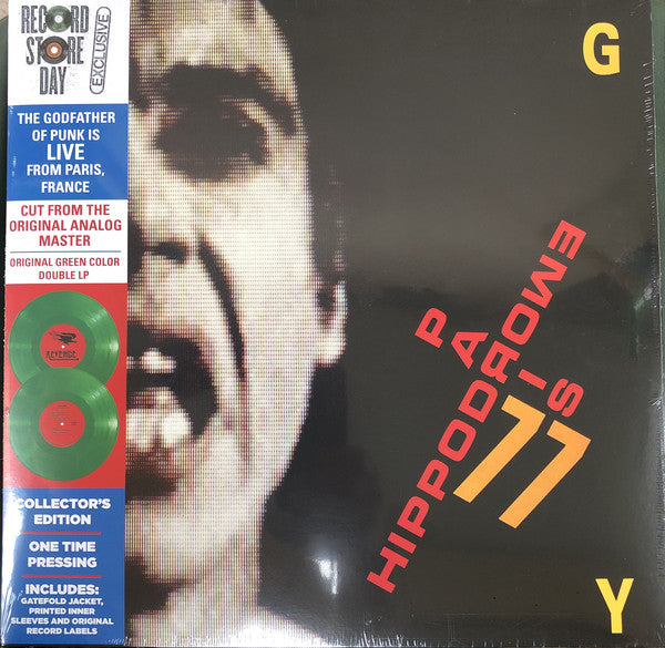 Iggy Pop ‎– Hippodrome - Paris 77