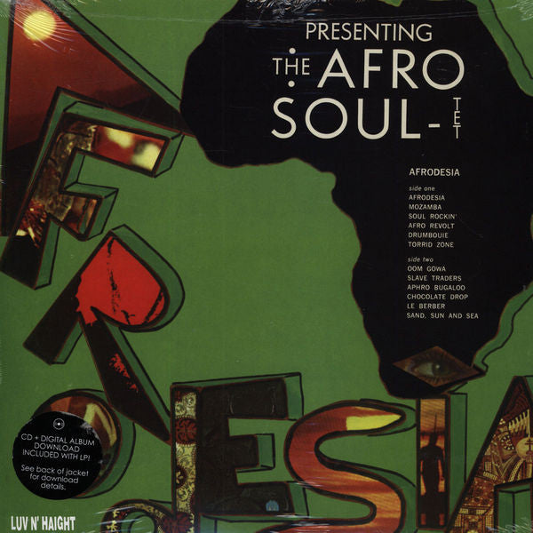 Afro-Soultet ‎– Afrodesia (Used)