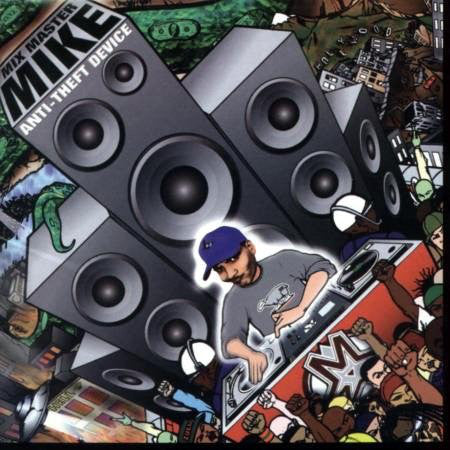 Mix Master Mike ‎– Anti-Theft Device (2LP) (Used)