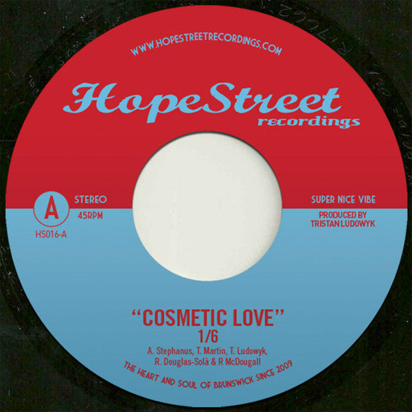 "1/6 / The Public Opinion Six ‎– Cosmetic Love / Jappo (7"")"