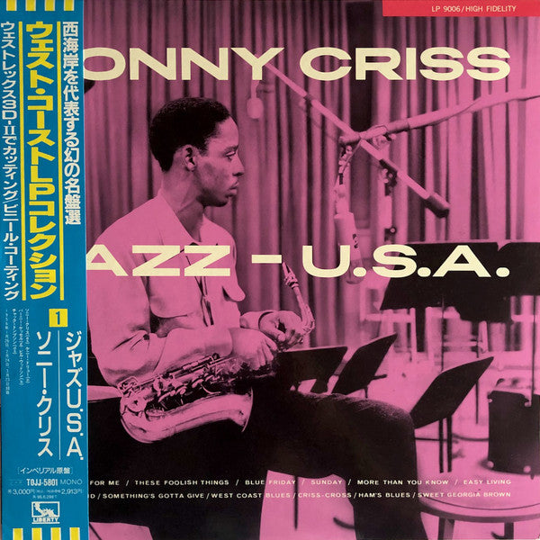 Sonny Criss ‎– Jazz - U.S.A. (Used)