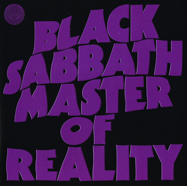 Black Sabbath ‎– Master Of Reality (Includes CD)