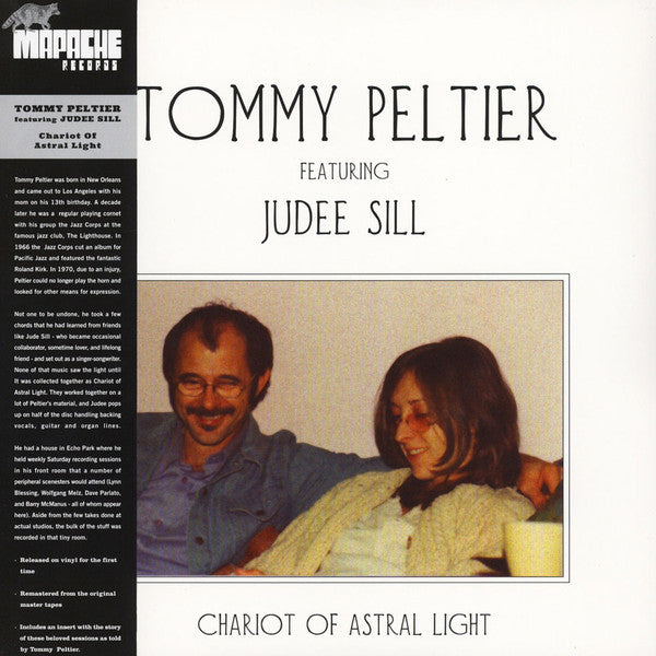 Tommy Peltier featuring Judee Sill ‎– Chariot Of Astral Light (Used)