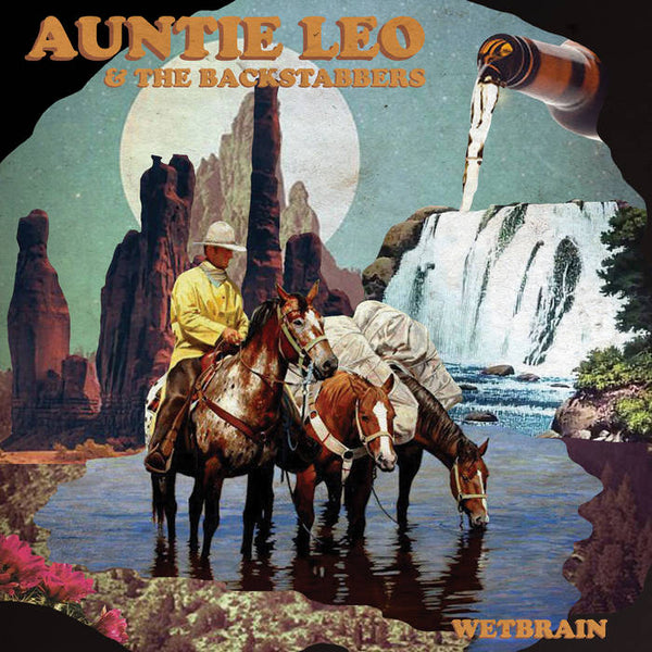 "Auntie Leo & The Backstabbers ‎– Wetbrain 12"" EP"