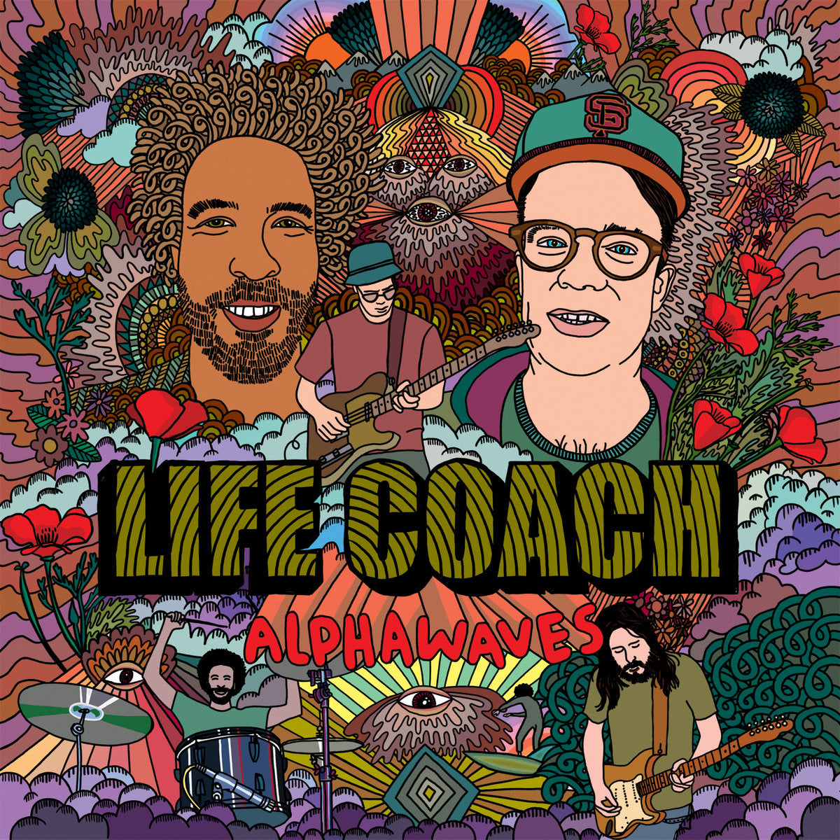 Life Coach ‎– Alphawaves (Used)