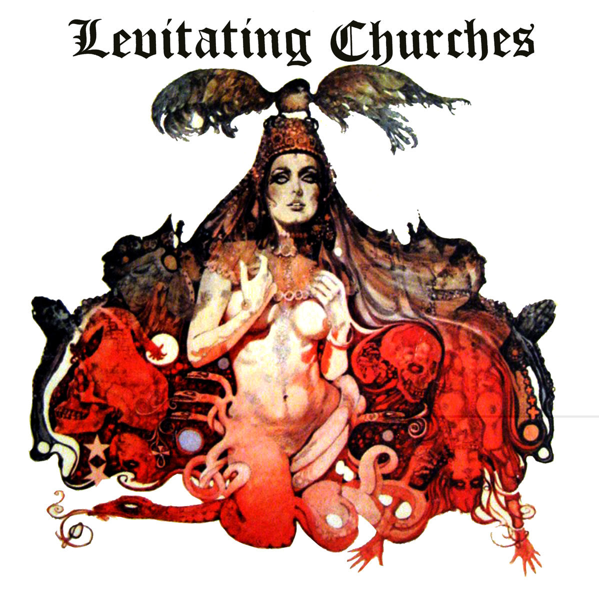 Levitating Churches ‎– Fuck Blues/Cry A Little Harder 7""