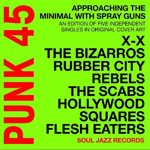 "Soul Jazz Records Presents - PUNK 45 – Approaching The Minimal With Spray Guns (7"" Boxset)"