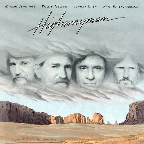 Waylon Jennings / Willie Nelson / Johnny Cash / Kris Kristofferson ‎– Highwayman