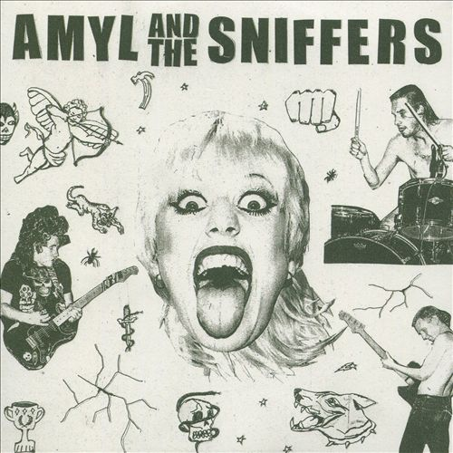 Amyl and The Sniffers ‎– Amyl And The Sniffers