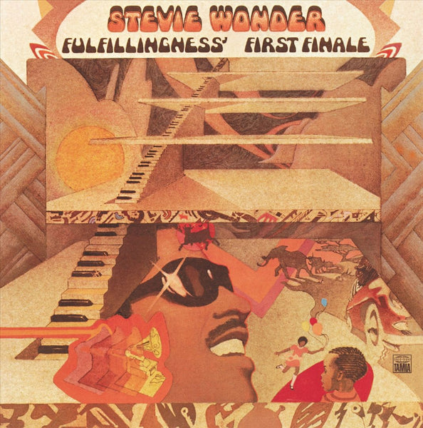 Stevie Wonder ‎– Fulfillingness' First Finale (Used)