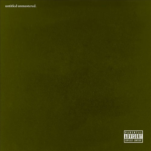 Kendrick Lamar - Untitled Unmastered (2LP)
