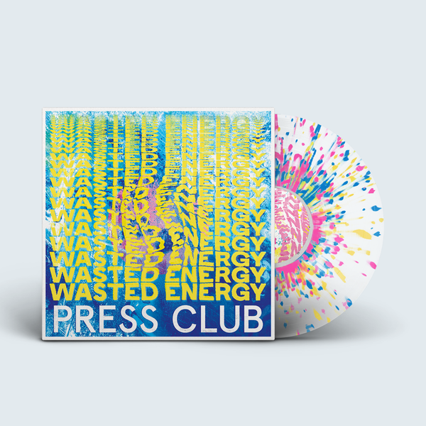 Press Club - Wasted Energy (Coloured Vinyl)