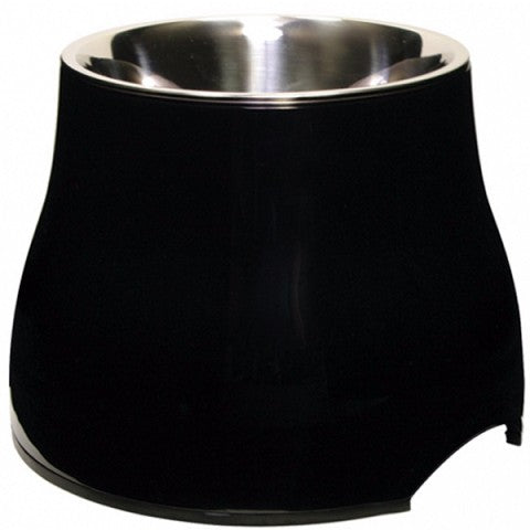DOGIT 2 IN 1 ELEVATED DOG DISH BLACK 300ML