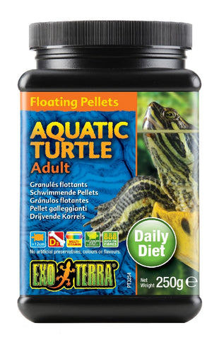 EXO TERRA TURTLE PELLETS ADULT 265G