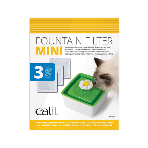 CATIT 2.0 MINI FOUNTAIN FILTER CARTRIDGE 3 PACK
