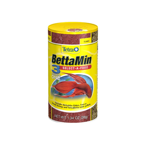 TETRA BETTA 3-IN-1 SELECT A FOOD 38G