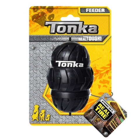 TONKA TRI STACK TREAD FEEDER BLACK 10CM