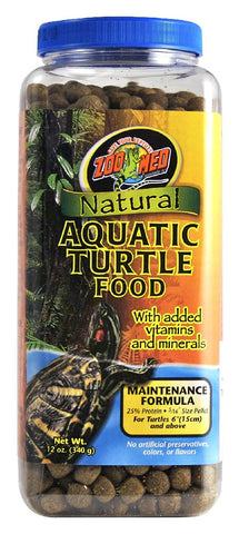 ZOOMED AQUATIC TURTLE FOOD ADULT MAINTENANCE 340G
