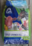 AGM TURKEY GROWER PELLETS 20KG