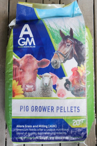 AGM PIG GROWER PELLETS 20KG