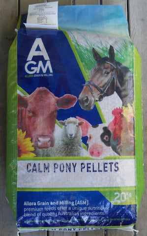 AGM CALM PONY PELLETS 20KG
