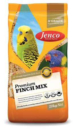JENCO PREMIUM FINCH MIX 20KG
