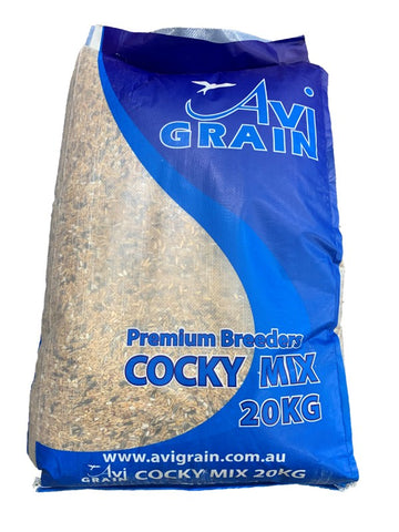 AVIGRAIN COCKY SEED MIX 20KG