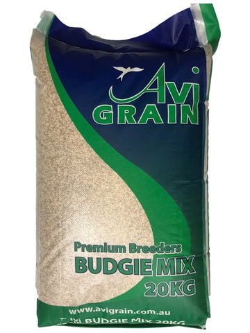 AVIGRAIN BUDGIE GREEN SEED MIX 20KG