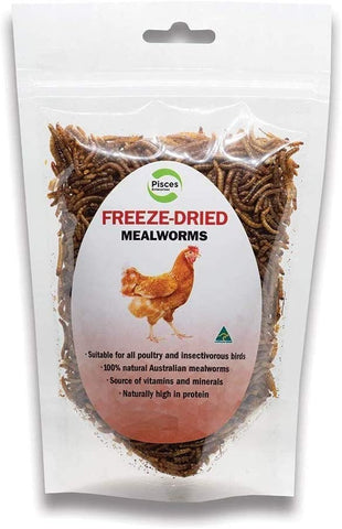 PISCES FREEDRIED MEALWORMS POULTRY 70G