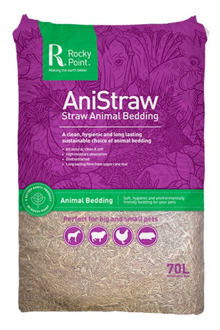 ROCKY POINT ANISTRAW ANIMAL BEDDING 70L
