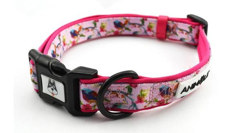 ANIMALE THE BIRDS OF PARADSE DOG COLLAR