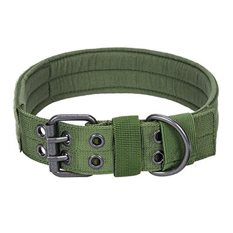 Tactical Dog Collar Green
