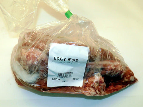 CANINE COUNTRY TURKEY NECKS 1KG