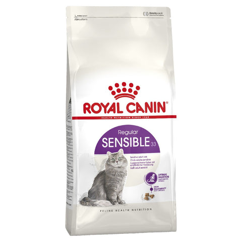 ROYAL CANIN CAT FOOD SENSIBLE CAT 2KG