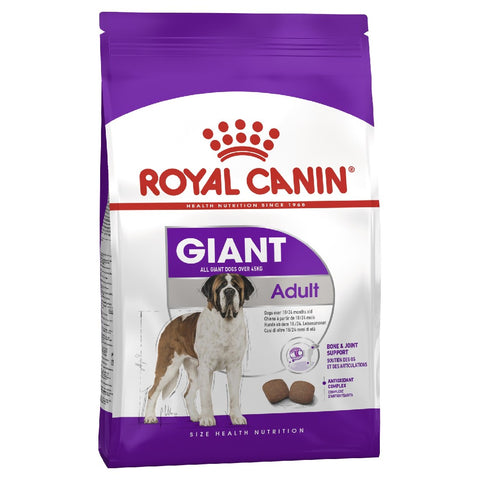 ROYAL CANIN DOG FOOD GIANT ADULT