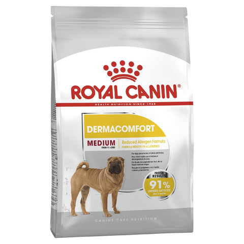 ROYAL CANIN DOG FOOD MEDIUM DERMACOMFORT