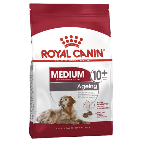 ROYAL CANIN DOG FOOD MEDIUM AGEING 10+