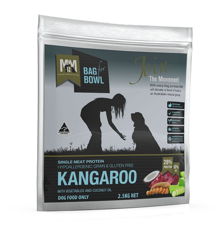 MEALS FOR MUTTS DOG FOOD SINGLE PROTIEN - GRAIN FREE KANGAROO