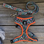 Soapy Moose Dog Harness Moroccan Sunrise