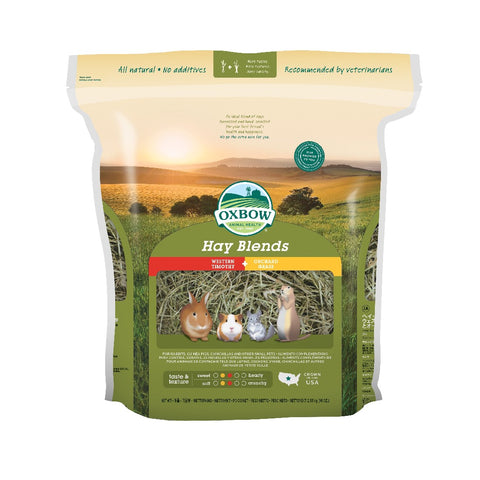 OXBOW TIMOTHY AND ORCHARD GRASS BLEND 1.13KG
