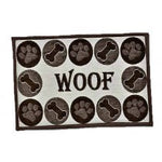 FASHION MAT WOOF CHENILLE