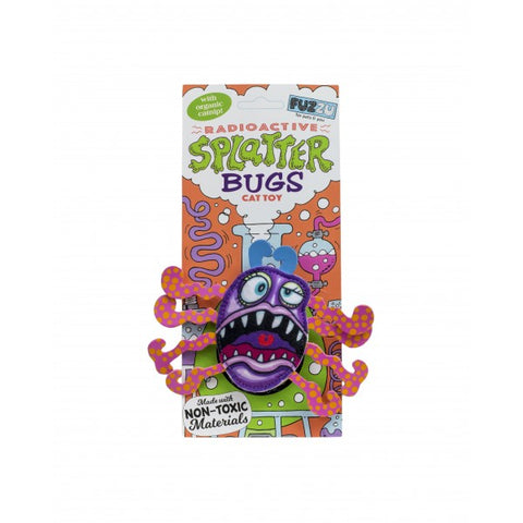 FUZZU SPLATTERBUG CAT TOY FRAZ